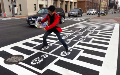 The Art of Crossing the Street