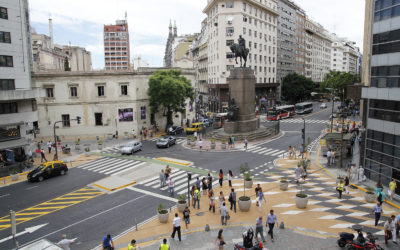 Pedestrian Interventions in Buenos Aires